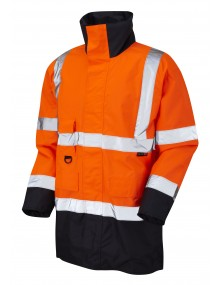 Leo Tawstock - ISO 20471 Class 3 Anorak A01-O/N High Visibility