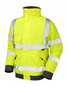 Leo Chivenor - ISO 20471 Class 3 Bomber Jacket  J01-Y High Visibility