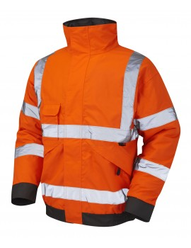Leo Chivenor - ISO 20471 Class 3 Bomber Jacket J01-O High Visibility