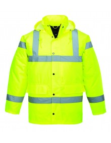 Portwest Yellow Breathable Traffic Jacket S461 Bombers & Anoraks