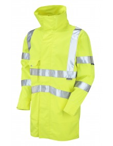 Leo Clovelly - ISO 20471 Class 3 Breathable  Anorak A04-Y High Visibility