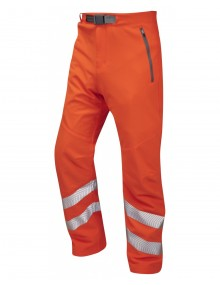 Leo Landcross stretch work trousers - Orange Clothing