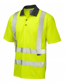Leo ROCKHAM P02-Y Coolviz Polo Shirt  Clothing