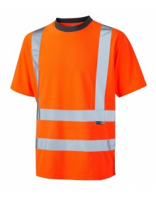 Leo Braunton T02-O Coolviz T-shirt Orange Clothing