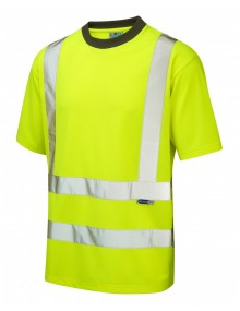 Leo Braunton T02-Y Coolviz T-shirt Yellow Clothing