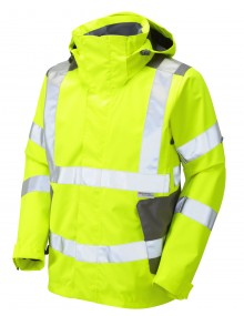 Leo Exmoor Breathable Jacket – Yellow