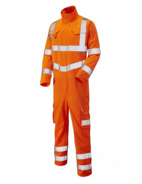 Leo Molland CV01 Coverall - Orange Clothing