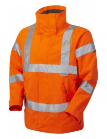 Leo Rosemoor Breathable Jacket – Orange