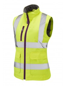 Leo Sandymere BWL01-Y Ladies Bodywarmer Yellow Clothing