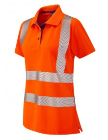 Leo Pippacott Ladies Coolviz-Plus Polo – Orange Clothing