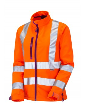 Leo Honeywell  Women's Softshell - Orange Clothing