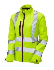 Leo Honeywell Women's Softshell Jacket - Yellow Clothing
