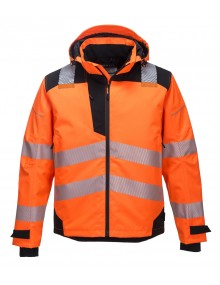 Portwest PW360 Extreme Breathable Rain Jacket - Orange Clothing