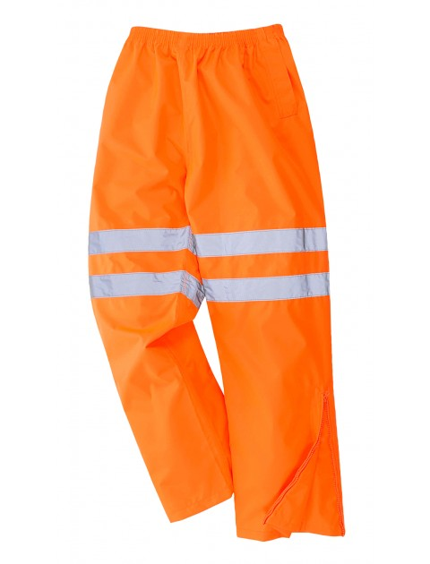 RT61 Breathable Overtrousers - Orange Clothing