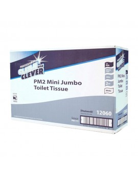 Clean & Clever Mini Jumbo Toilet Tissue Hygiene