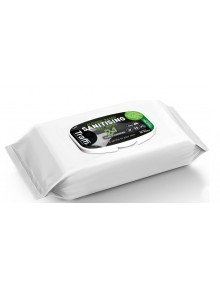 Traffi 70% Alcohol Sanitising Wipes Pack of 50 Hygiene