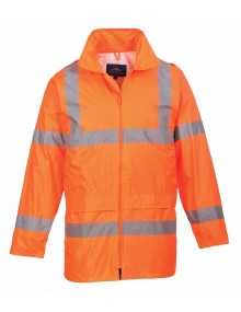 H440 - Hi-Vis Rain Jacket - Orange