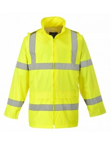 H440 - Hi-Vis Rain Jacket - Yellow