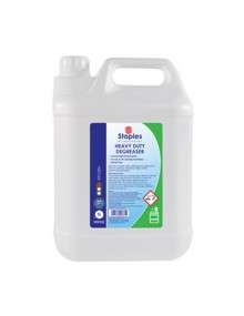Staples SPD932 Heavy Duty Degreaser - 2 x 5 Litres Hygiene