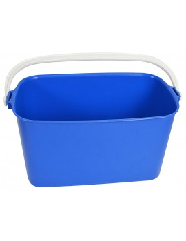 Oblong Bucket 9 Litre - Blue Hygiene