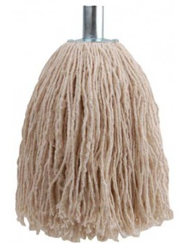 16oz String Mop Head With Galvanised Metal Socket Hygiene
