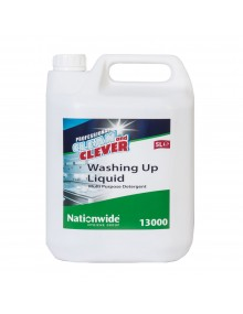 Clean & Clever Washing Up Liquid - 5 Litre Hygiene