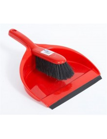 Dustpan & Brush Set - Stiff Bristles - Hygiene