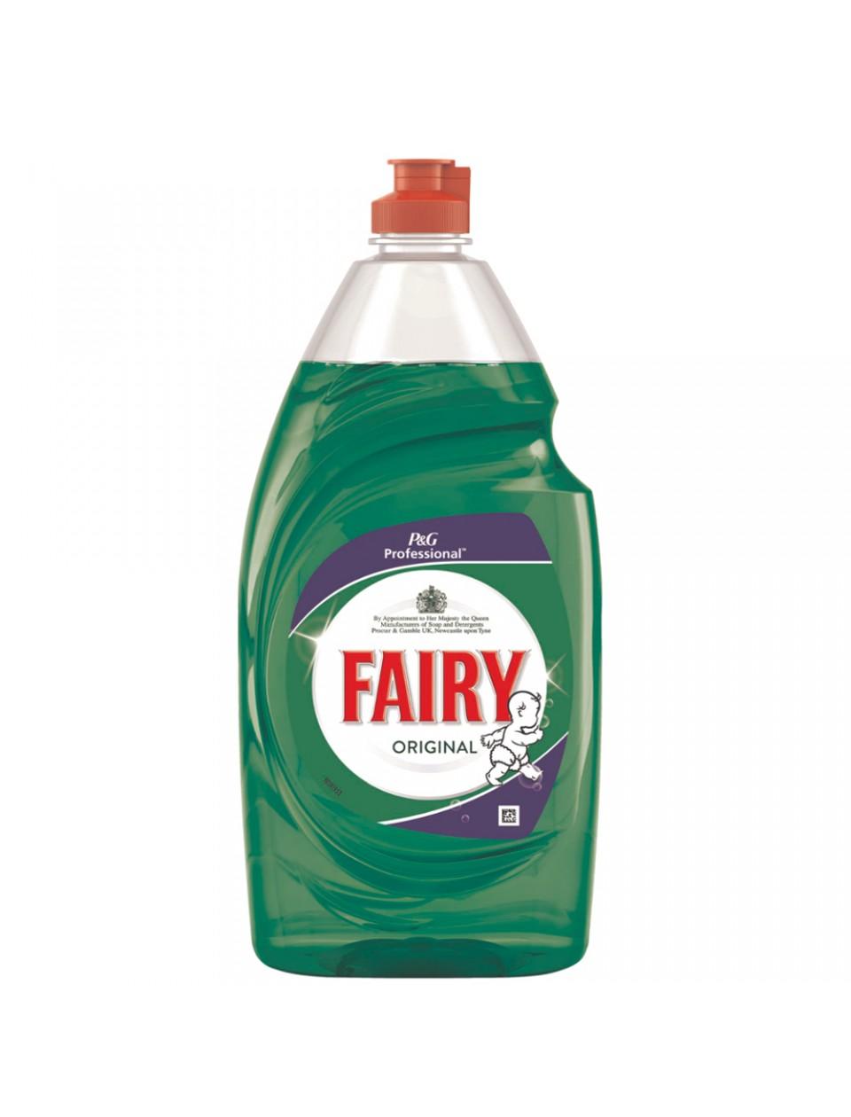 Original Fairy Washing Up Liquid Case Of 6 X 900ml