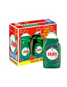 Original Fairy Washing Up Liquid - Case of 6 x 900ml