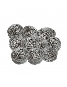 Stainless Steel Scourers - Pack of 10 Hygiene