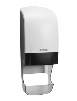 Katrin  System Toilet Dispenser with Core Catcher - White Hygiene