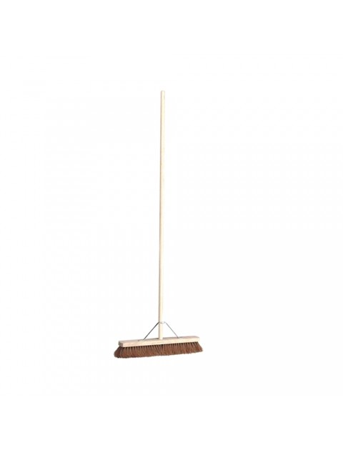 24 Inch Soft Wooden Broom Hygiene
