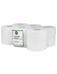 Pro Mini jumbo Toilet Rolls - Pack of 6  Hygiene