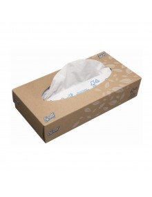 Scott 8837 Facial Tissues - 21 boxes of 100 Hygiene