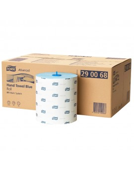 Tork Matic Rolltowel 2ply Blue  Wash Room