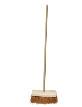 12 Inch Soft Coco Broom Hygiene