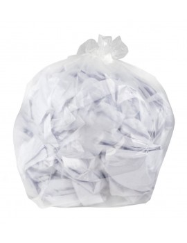 Clear Wheelie Bin Sacks - Case 50 Hygiene