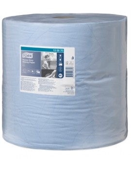 Tork 130070 Blue Heavy Duty 2-ply Wiper Roll Hygiene