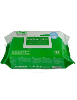 Clinell Universal Wipes x 200 Industrial Wiping