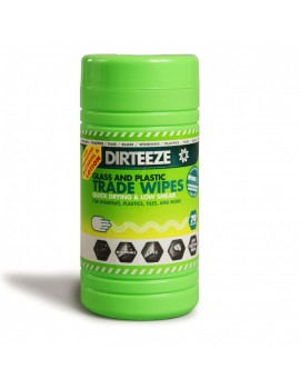 Dirteeze Glass & Plastic Wipes   Site Products