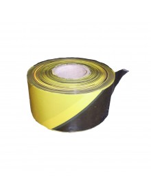 Yellow & Black Barrier Tape  - 500 Meters Site Products