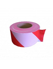 Red & White Barrier Tape  - 500 Meters Site Products