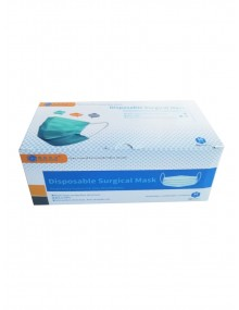 3 Layer Type IIR High Splash Protection Surgical Mask Box of 50