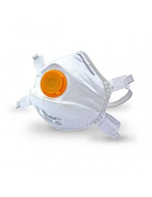 Respair FFP3V disposable economy face mask (box of 5) Disposable Respirators