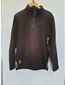 Regatta Intercell Zip Neck Fleece Black Medium. Sale