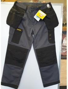 Regatta Workline Trousers Iron/Black Size 38R. Sale