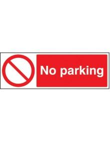 No parking - Rigid Plastic 5 sizes Site Products