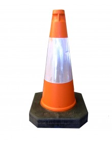 Plastic Traffic Cone - 500mm Thermoplastic Site Products