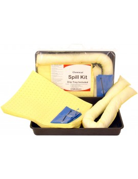 Fentex Chemical 20ltr Spill Kit with Drip Tray Hygiene
