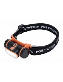 Portwest PA70 - USB Rechargeable LED Head Light Site Products